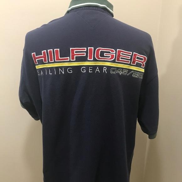 d20bc56de Vintage Tommy Hilfiger Sailing Gear Polo Shirt XL.  M_5a8f500772ea8848f906aecd